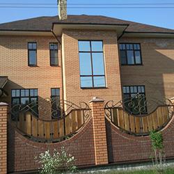 тонировка окон частного дома