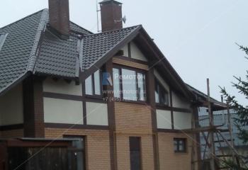 Тонировка окон частного дома.